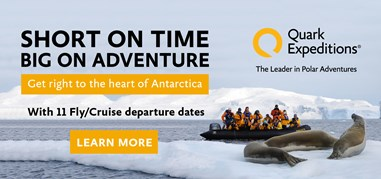 QuarkExpeditions Antarctica Nov6-Nov19 Brand