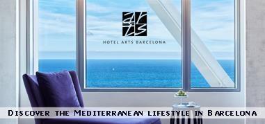HotelArtsBarcelona Spain Nov6-Nov19 Brand
