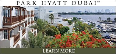 ParkHyattDubai MiddleEast Mar27-Apr9 Brand