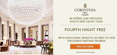 CorinthiaLondon Europe Dec18-Dec31 Promo