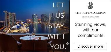The Ritz-CarltonSingapore Asia Jan16-Jan29 Promo