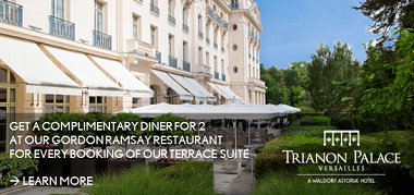 TrianonPalaceVersailles France July17-July30 Promo