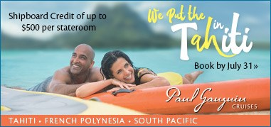 PaulGauguin SouthPacific July17-July30 Brand