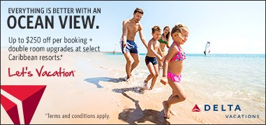 DeltaVacations Caribbean Mar27-Apr9 Promo