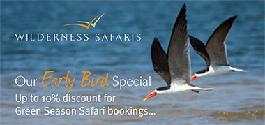 WildernessSafaris Africa Sep25-Oct8 Promo
