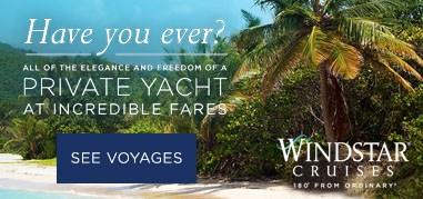 WindstarCruises Caribbean July17-July30
