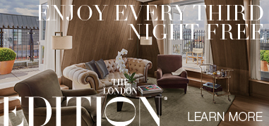 TheLondonEDITION London Dec16-Dec29 Promo