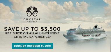 CrystalCruises Greece Oct7-Oct20 Promo