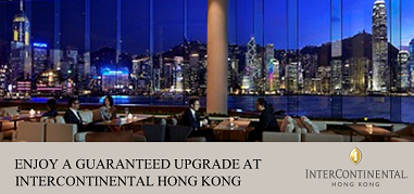 InterContinentalHK HongKong Mar11-Mar24 Promo