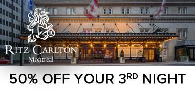 RitzCarltonMontreal Canada Jun17-Jun30 Promo