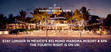 BelmondMaromaResort Mexico Sep9-Sep22 Promo