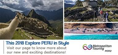 MetropolitanTouring SouthAmerica Mar12-Mar25 Promo