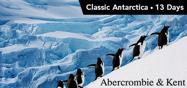 AbercrombieandKent Antarctica Nov5-Nov18 Product