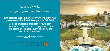 MonarchBeach NorthAmerica Feb12-Feb25 Promo