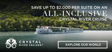 CrystalCruises Europe Dec3-Dec16 Promo