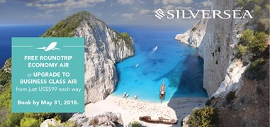SilverseaCruises Greece Apr23-May6 Promo