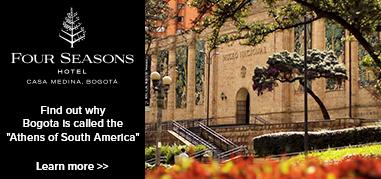FourSeasonsBogotá SouthAmerica Apr23-May6