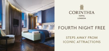 CorinthiaHotelLondon London Apr23-May6 Promo