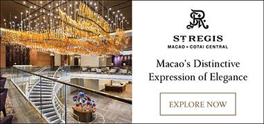 StRegisMacao Asia Oct8-Oct21 Brand