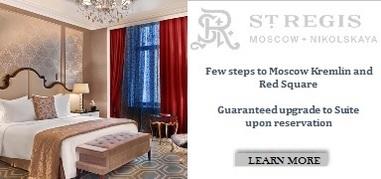 StRegisMoscow Russia Oct8-Oct21