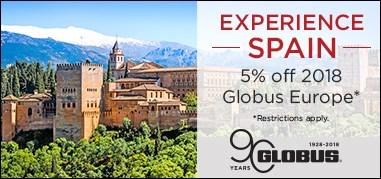Globus Spain Apr9-Apr22 Promo