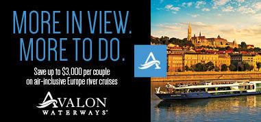 AvalonWaterways Hungary Jun18-Jul1 Promo