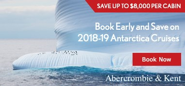 Abercrombie&Kent Antarctica Jan15-Jan28 Promo
